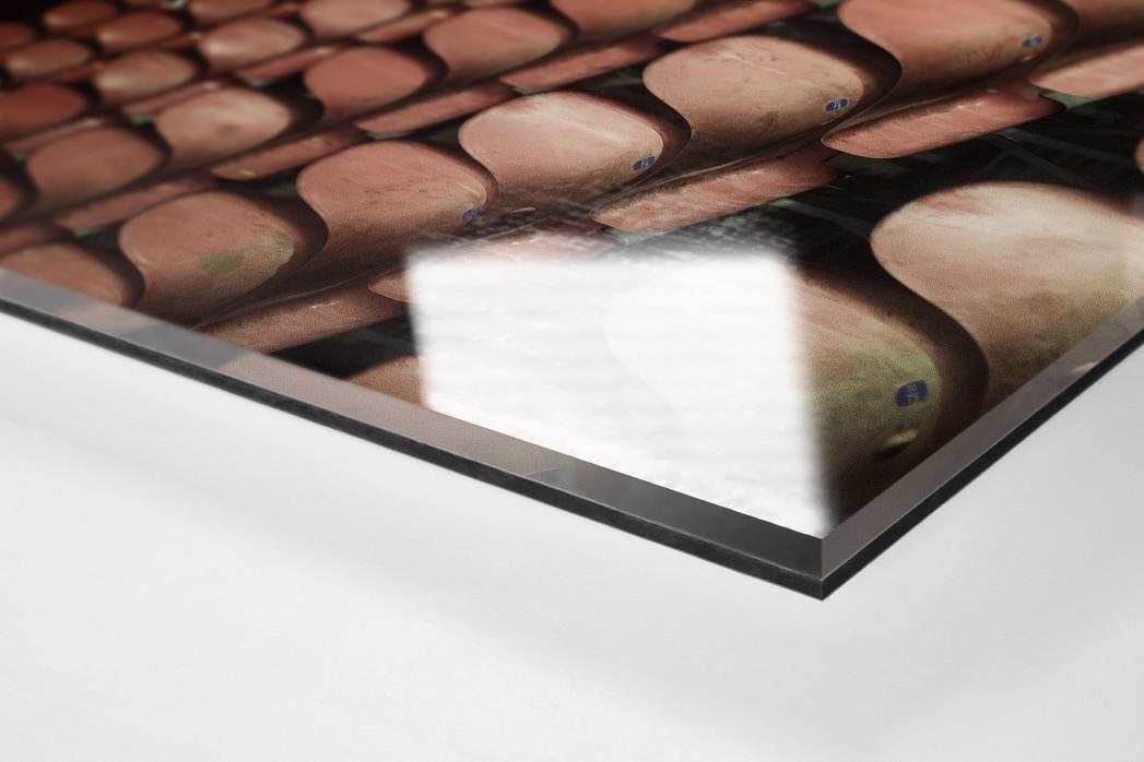 Schalensitze im San Paolo als Direktdruck auf Alu-Dibond hinter Acrylglas (Detail)