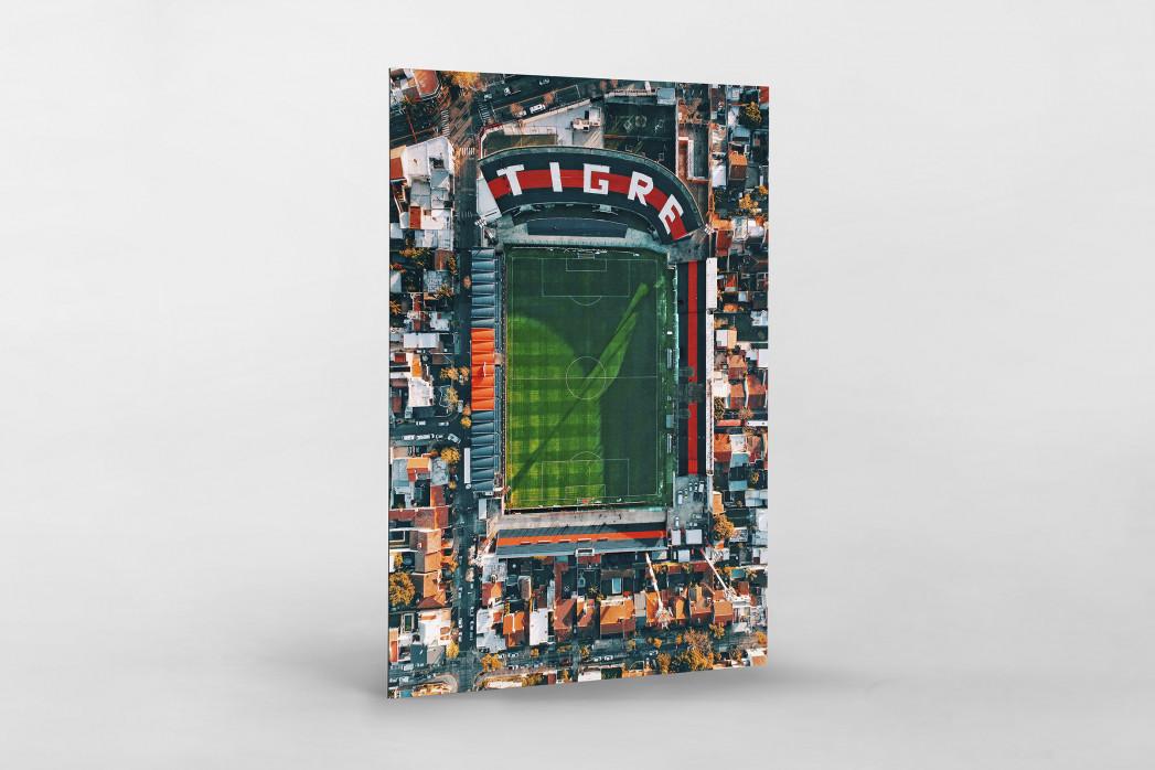 Vogelperspektive Estadio Jose Dellagiovanna als auf Alu-Dibond kaschierter Fotoabzug