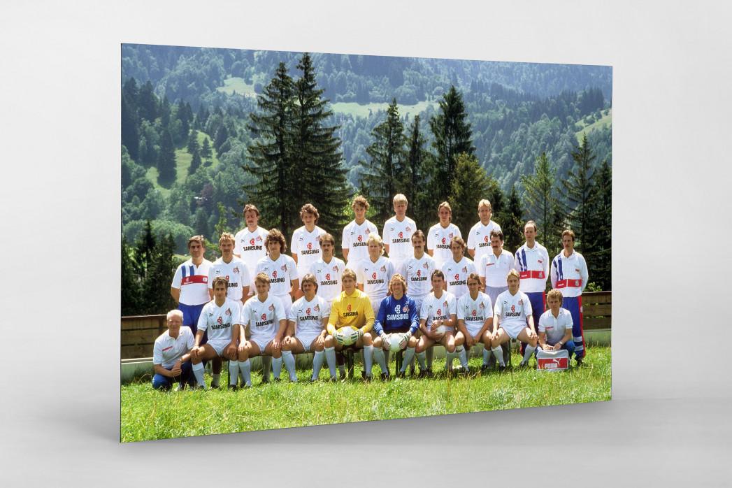 Köln 1988/89 als auf Alu-Dibond kaschierter Fotoabzug