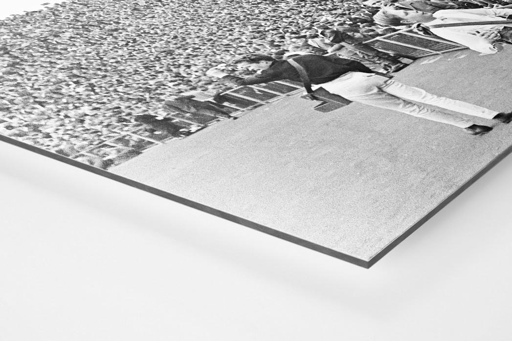 Zuschauer 1965 als auf Alu-Dibond kaschierter Fotoabzug (Detail)