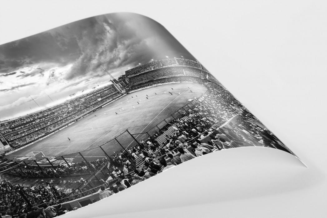 La Bombonera (schwarz/weiß) als FineArt-Print