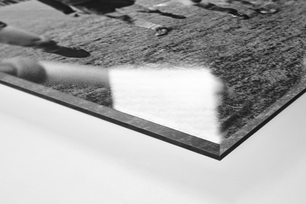 Bremer Meisterjubel als Direktdruck auf Alu-Dibond hinter Acrylglas (Detail)