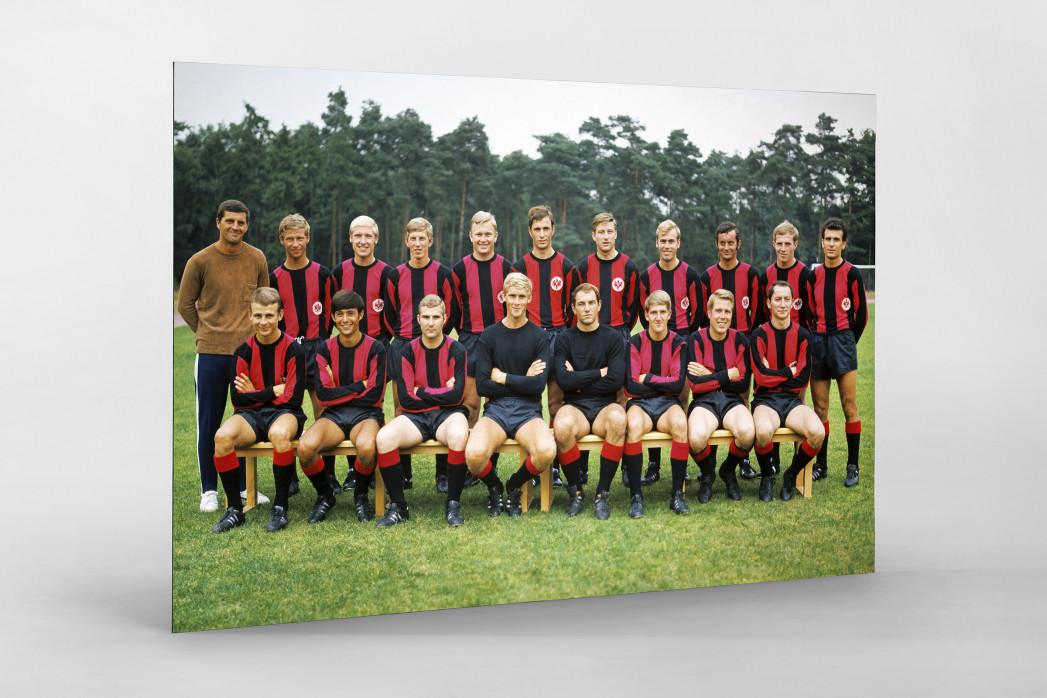 Frankfurt 1969/70 als auf Alu-Dibond kaschierter Fotoabzug