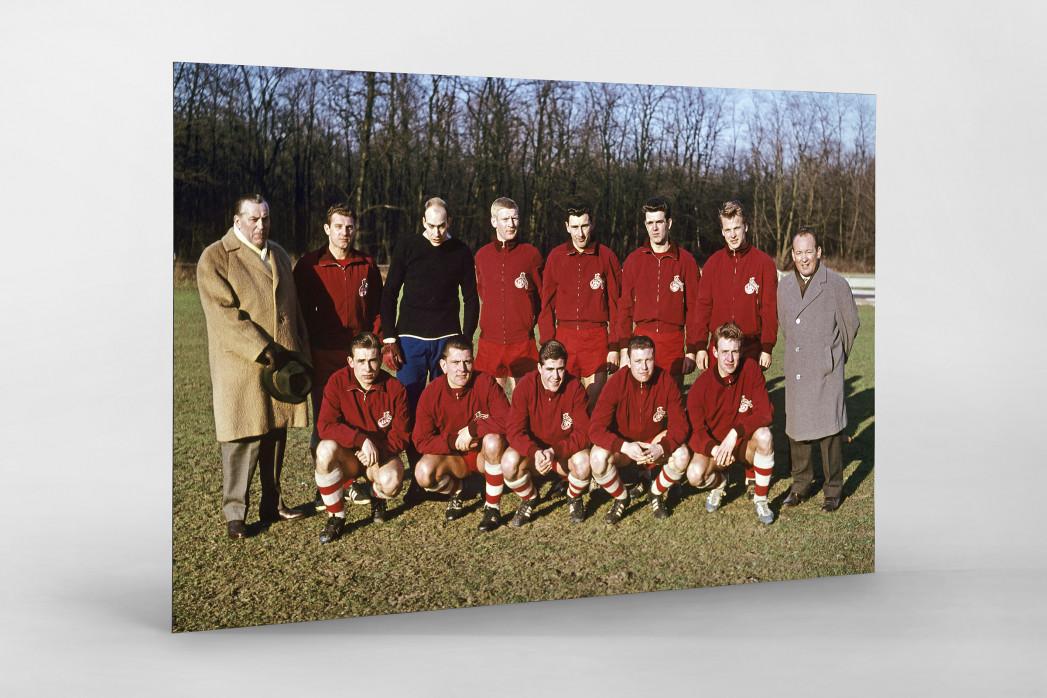 Köln 1961/62 als auf Alu-Dibond kaschierter Fotoabzug
