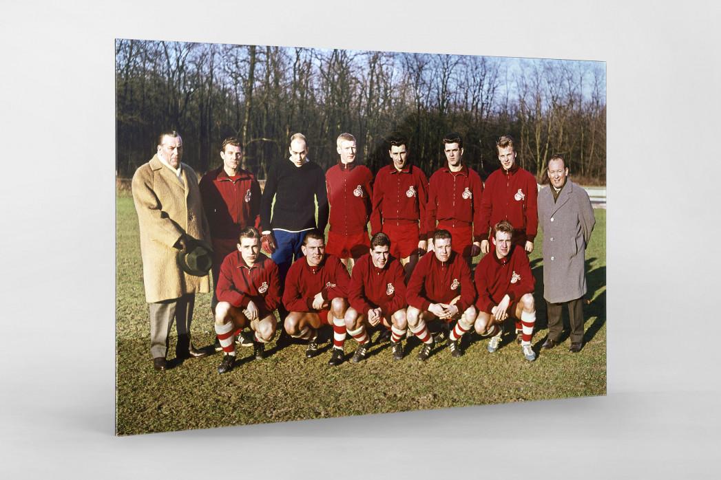 Köln 1961/62 als Direktdruck auf Alu-Dibond hinter Acrylglas