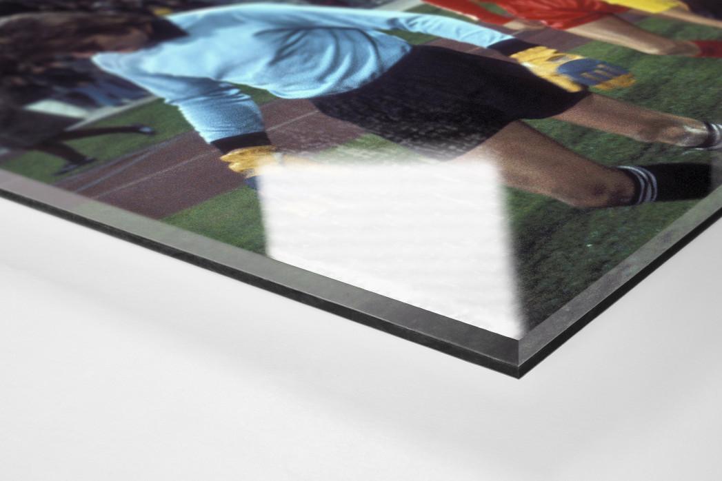 Dresden in München (1) als Direktdruck auf Alu-Dibond hinter Acrylglas (Detail)