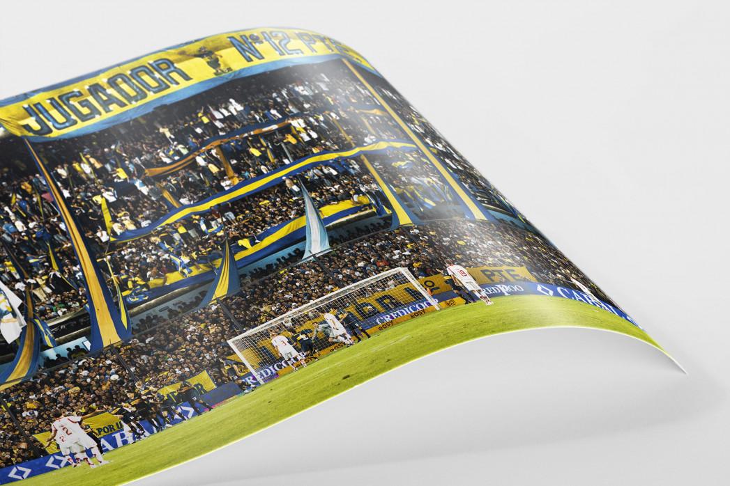 Boca Juniors Fankurve als FineArt-Print