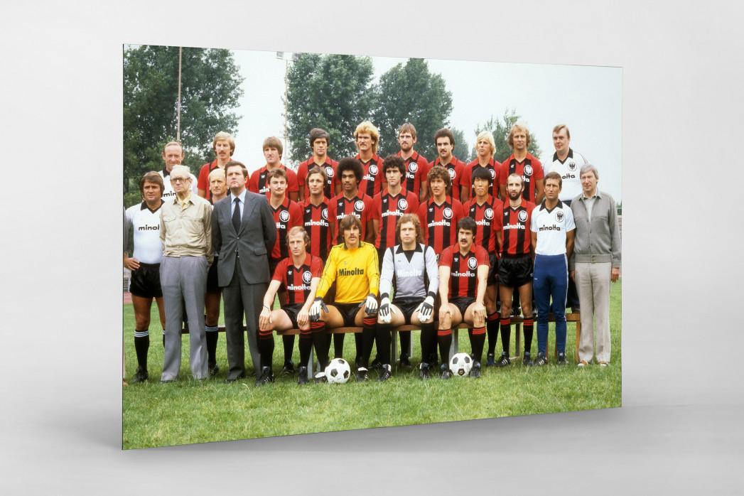 Frankfurt 1979/80 als auf Alu-Dibond kaschierter Fotoabzug