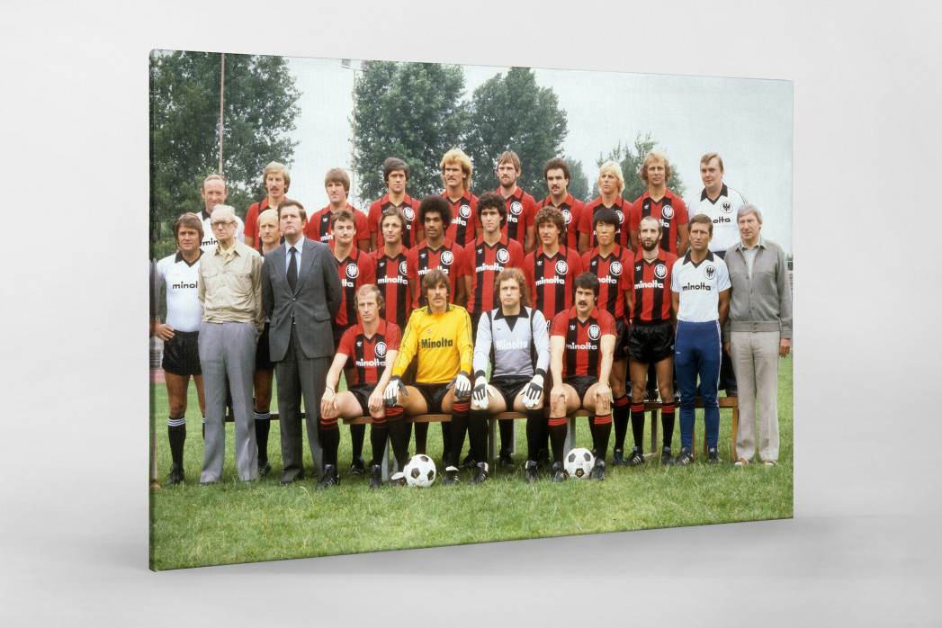 Frankfurt 1979/80 als Leinwand auf Keilrahmen gezogen