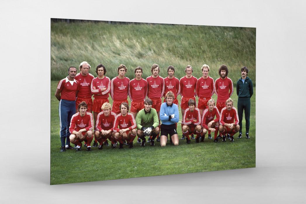 München 1979/80 als auf Alu-Dibond kaschierter Fotoabzug