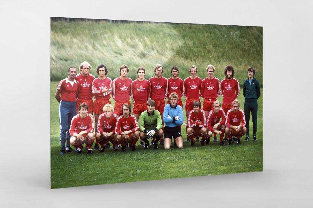 München 1979/80 als Direktdruck auf Alu-Dibond hinter Acrylglas