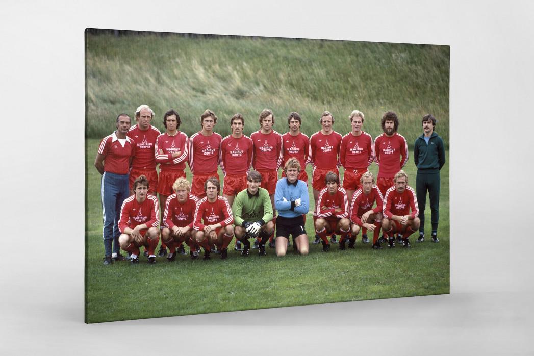 München 1979/80 als Leinwand auf Keilrahmen gezogen