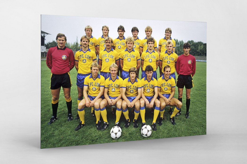 Lok 1983/84 als auf Alu-Dibond kaschierter Fotoabzug