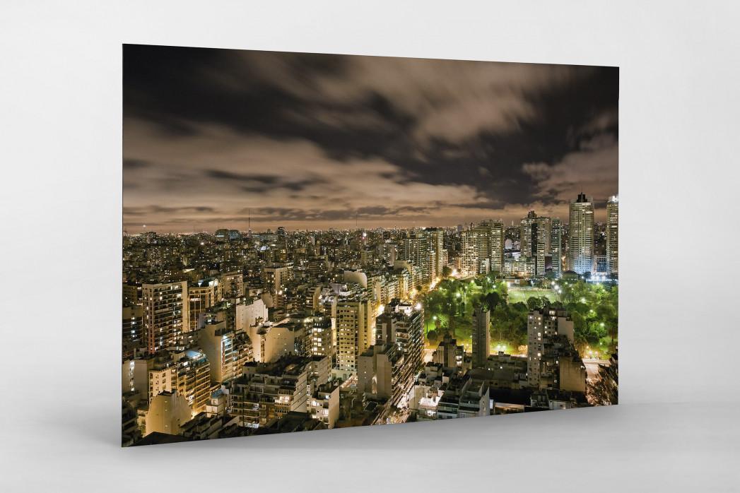 Buenos Aires (Palermo) als auf Alu-Dibond kaschierter Fotoabzug