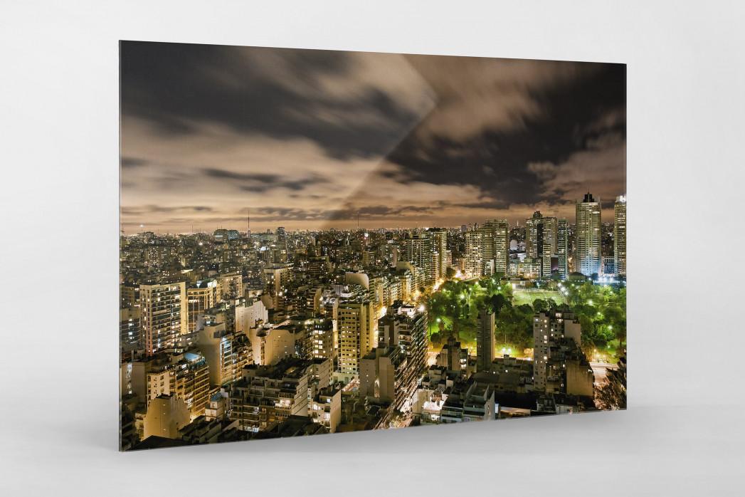Buenos Aires (Palermo) als Direktdruck auf Alu-Dibond hinter Acrylglas