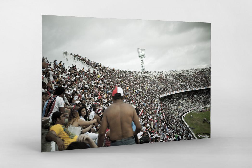 Im Estádio do Arruda als auf Alu-Dibond kaschierter Fotoabzug