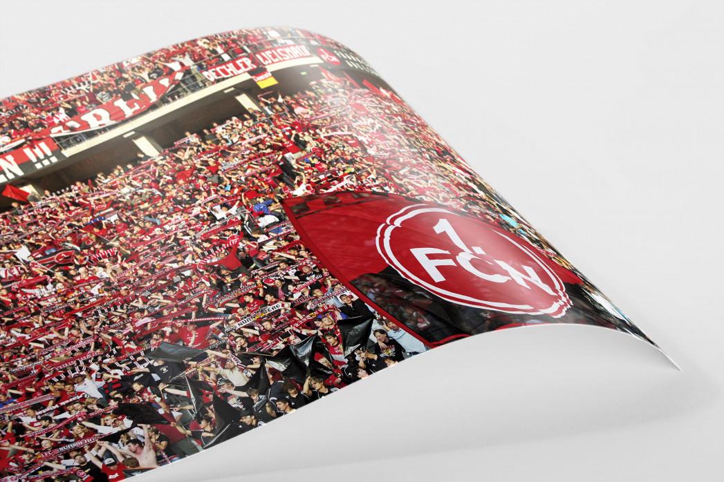 Club Fans in Berlin als FineArt-Print