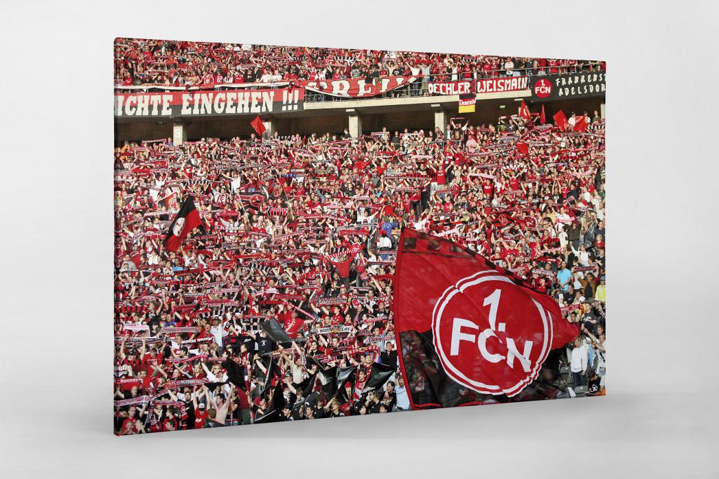 Club Fans in Berlin als Leinwand auf Keilrahmen gezogen