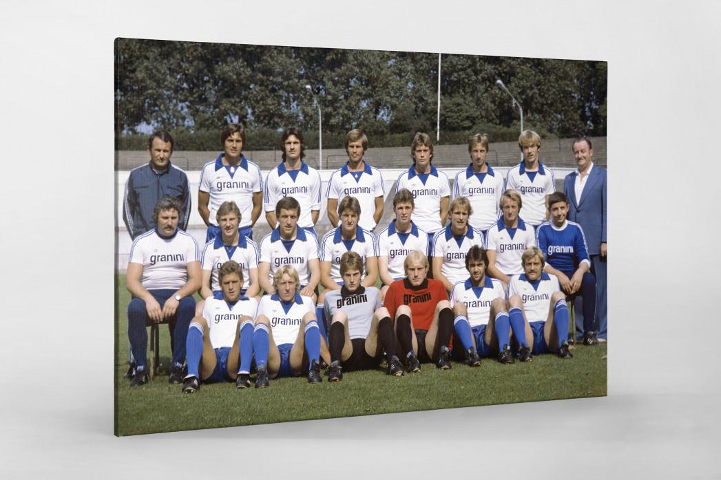 Bielefeld 1978/79 als Leinwand auf Keilrahmen gezogen