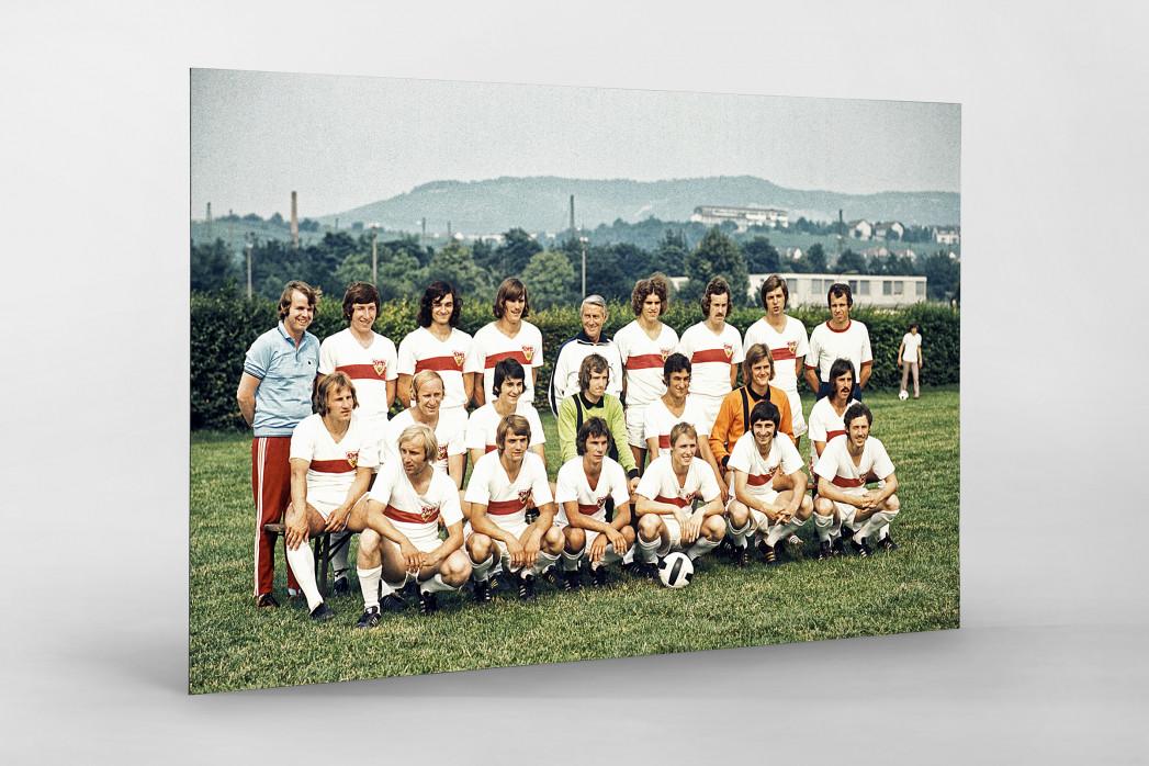 Stuttgart 1973/74 als auf Alu-Dibond kaschierter Fotoabzug