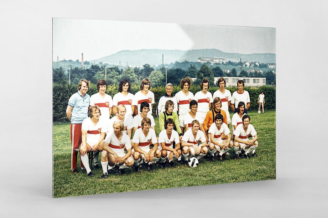 Stuttgart 1973/74 als Direktdruck auf Alu-Dibond hinter Acrylglas