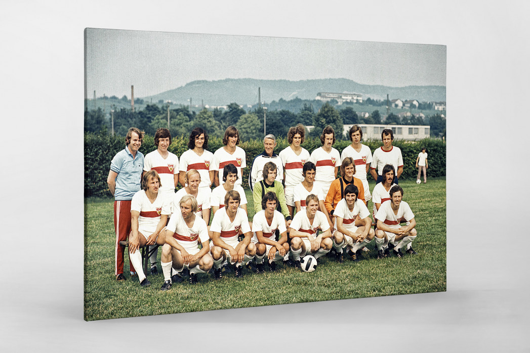 Stuttgart 1973/74 als Leinwand auf Keilrahmen gezogen