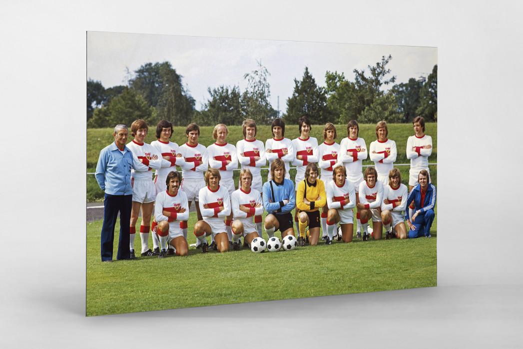Stuttgart 1974/75 als auf Alu-Dibond kaschierter Fotoabzug