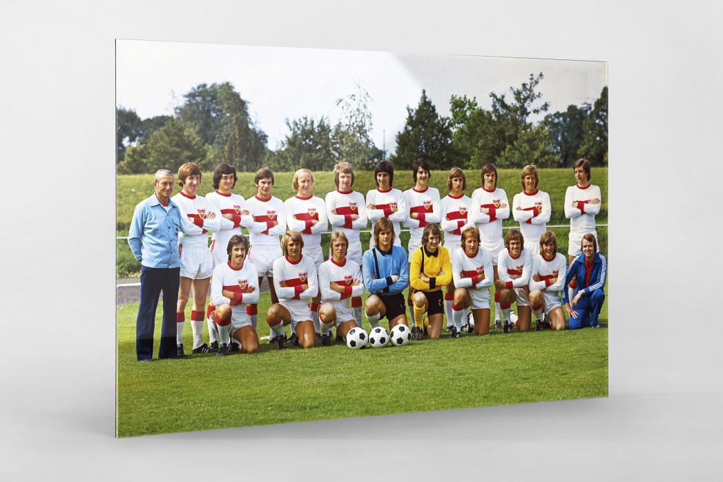 Stuttgart 1974/75 als Direktdruck auf Alu-Dibond hinter Acrylglas