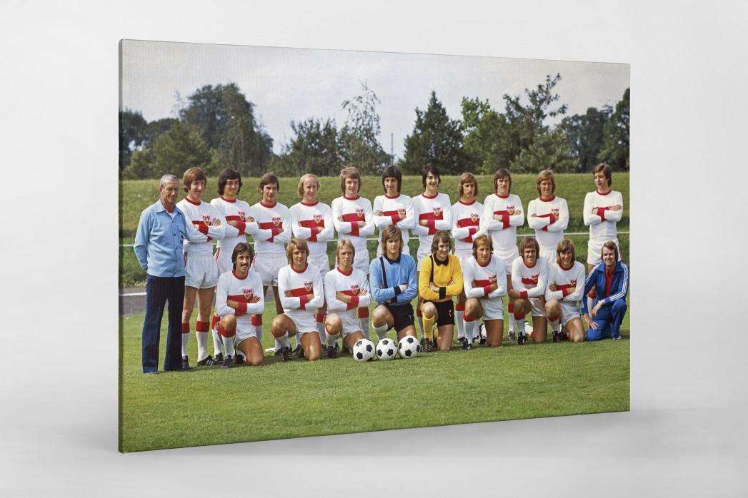 Stuttgart 1974/75 als Leinwand auf Keilrahmen gezogen