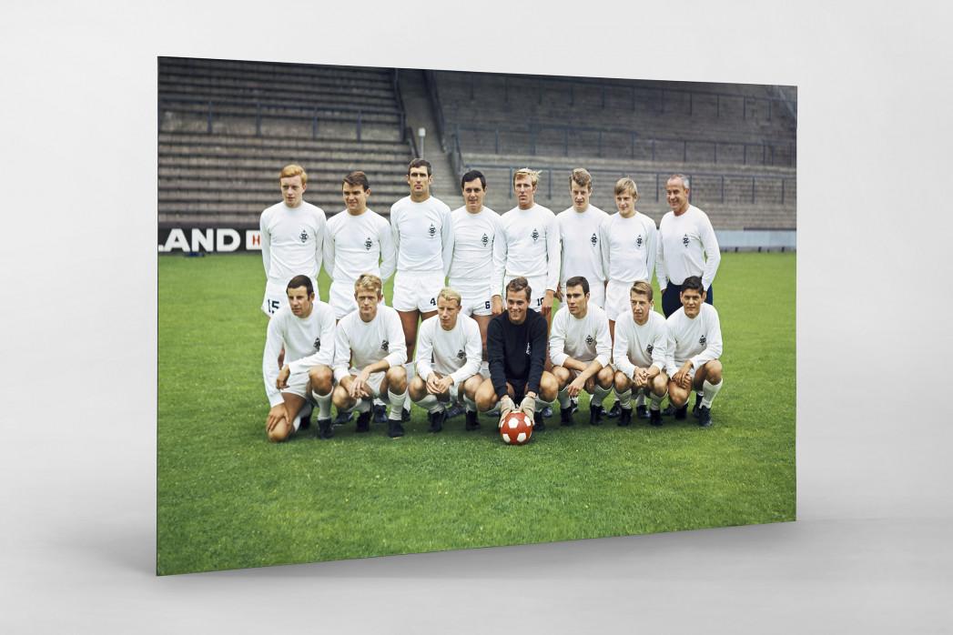 Mönchengladbach 1968/69 (2) als auf Alu-Dibond kaschierter Fotoabzug