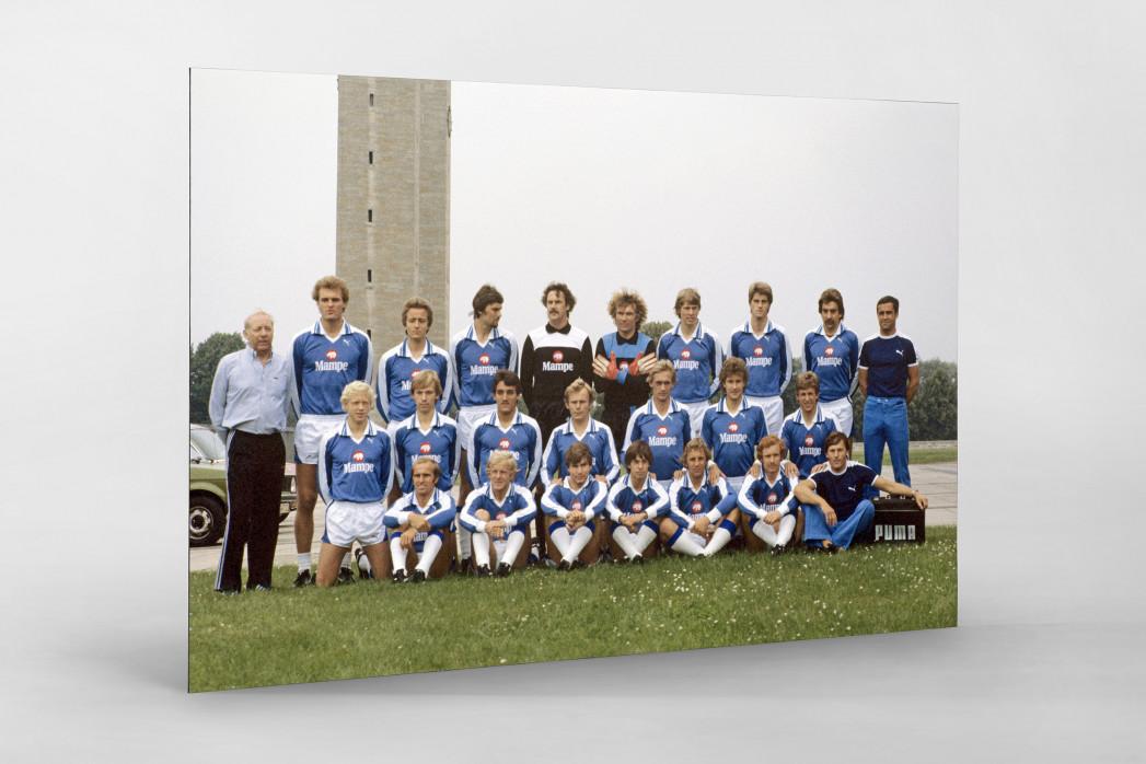 Hertha 1978/79 als auf Alu-Dibond kaschierter Fotoabzug