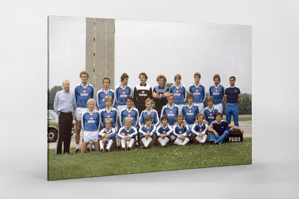 Hertha 1978/79 als Leinwand auf Keilrahmen gezogen