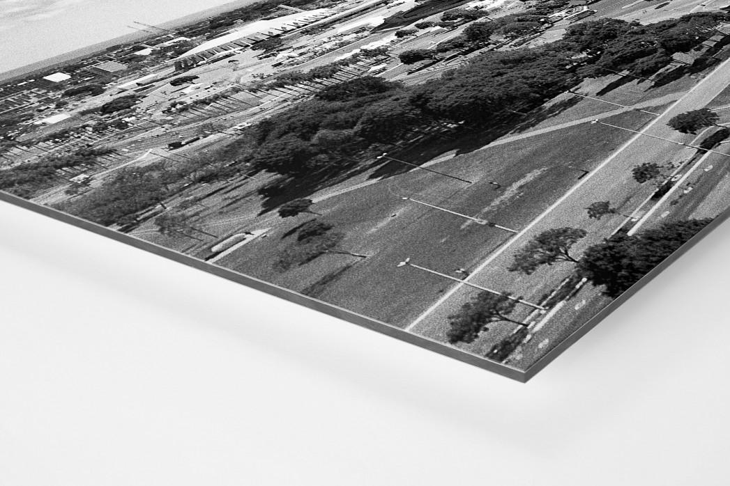 Estádio Nacional de Brasília  als auf Alu-Dibond kaschierter Fotoabzug (Detail)