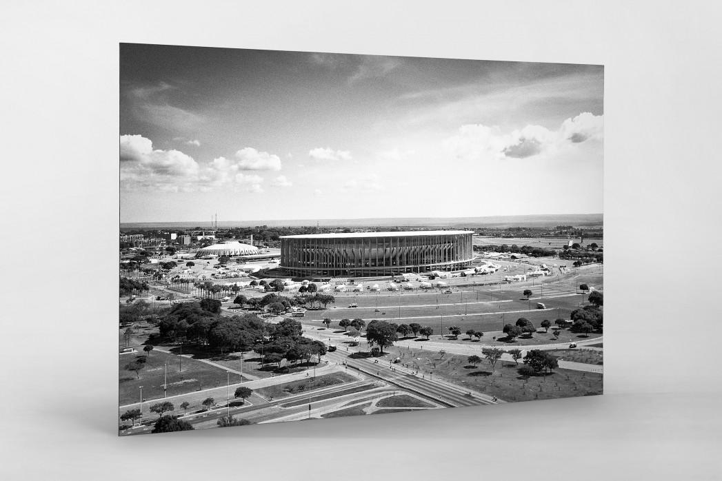 Estádio Nacional de Brasília  als auf Alu-Dibond kaschierter Fotoabzug