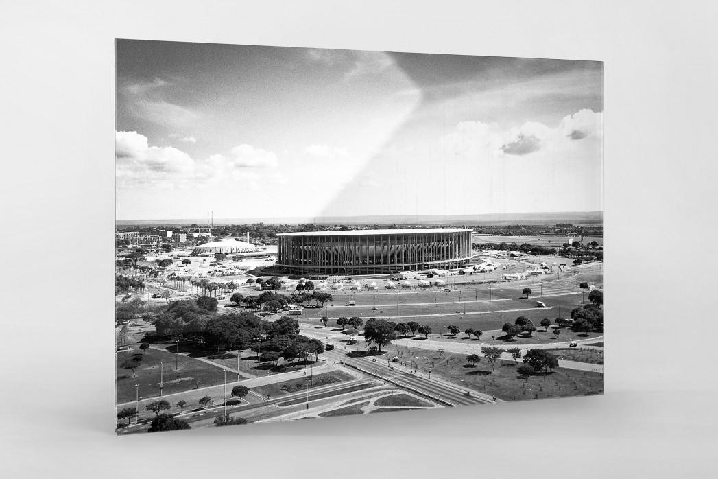 Estádio Nacional de Brasília  als Direktdruck auf Alu-Dibond hinter Acrylglas