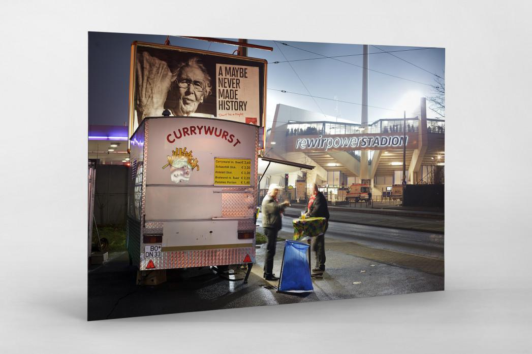 Currywurst in Bochum als auf Alu-Dibond kaschierter Fotoabzug