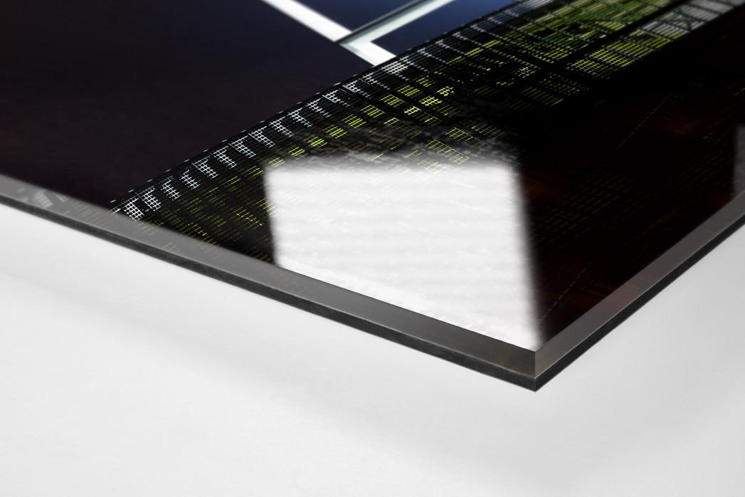 Flutlichtmast Weserstadion als Direktdruck auf Alu-Dibond hinter Acrylglas (Detail)
