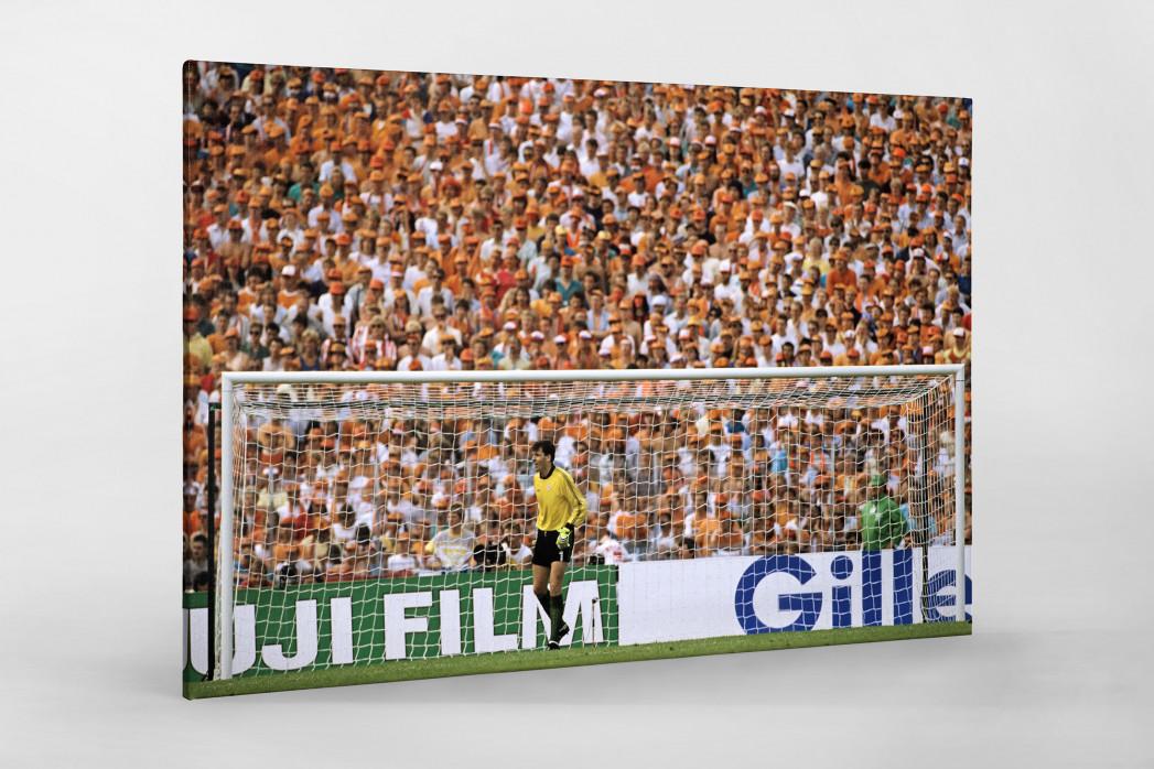 Bonner vor holländischen Fans als Leinwand auf Keilrahmen gezogen