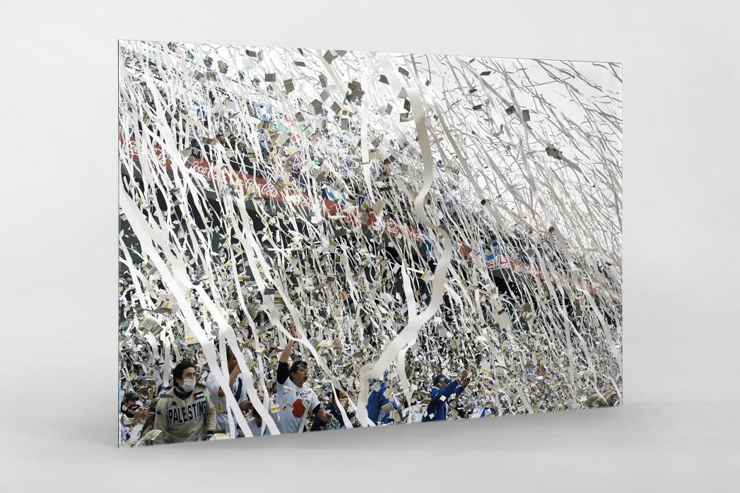 Vélez-Fankurve als Direktdruck auf Alu-Dibond hinter Acrylglas