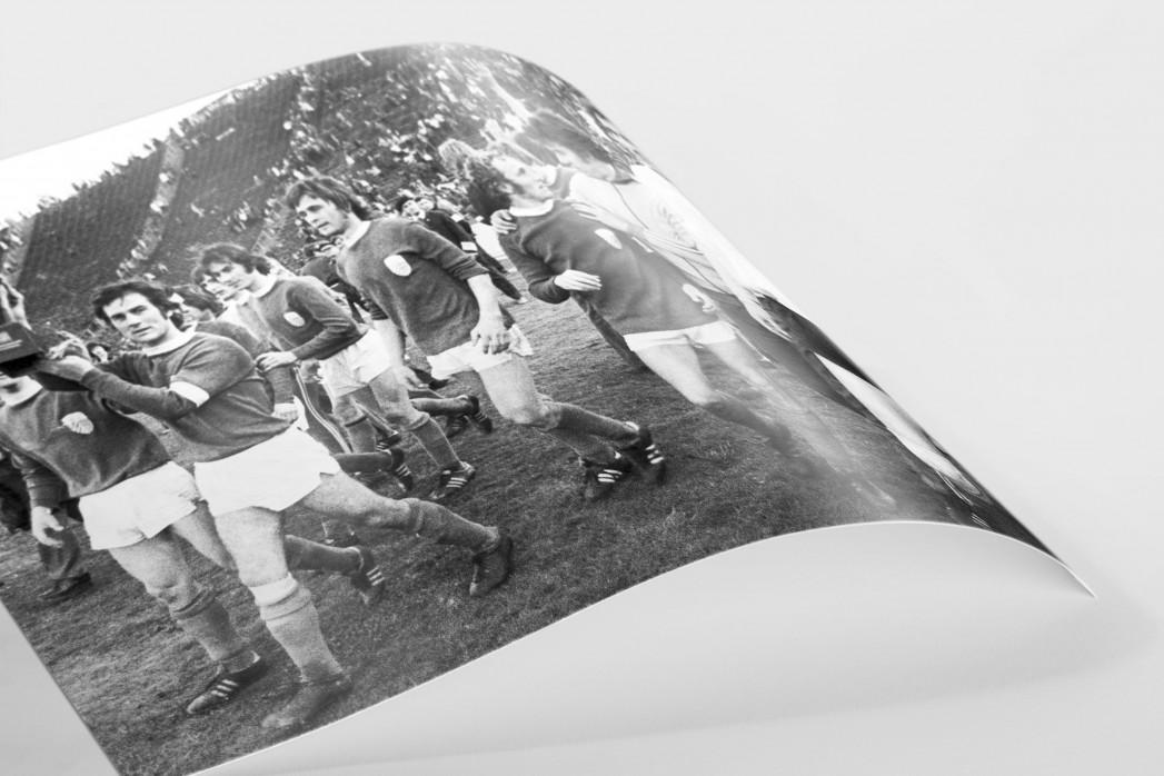 Jena FDGB-Pokalsieger 1974 als FineArt-Print