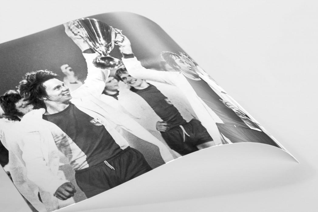 Magdeburger Europapokalsieger als FineArt-Print