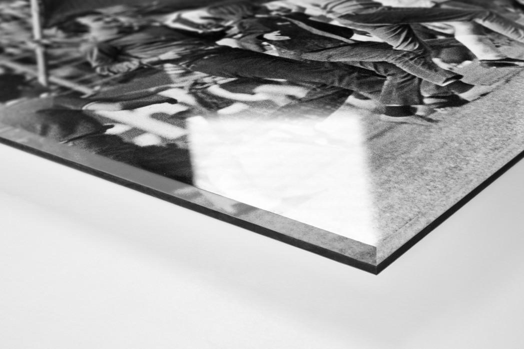 MSV Fahnen als Direktdruck auf Alu-Dibond hinter Acrylglas (Detail)