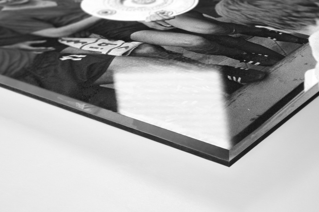 Nürnbergs Meister als Direktdruck auf Alu-Dibond hinter Acrylglas (Detail)