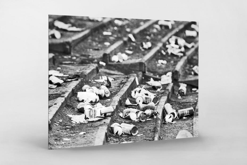Dosenbier im Hampden Park als auf Alu-Dibond kaschierter Fotoabzug