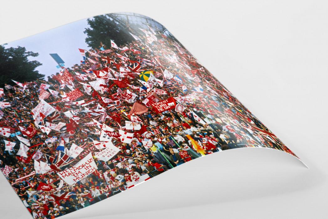 Nottingham Fans als FineArt-Print