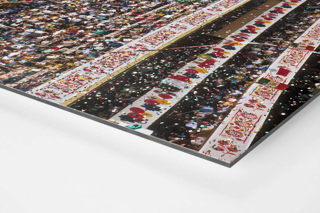 Ränge im Aztekenstadion als auf Alu-Dibond kaschierter Fotoabzug (Detail)
