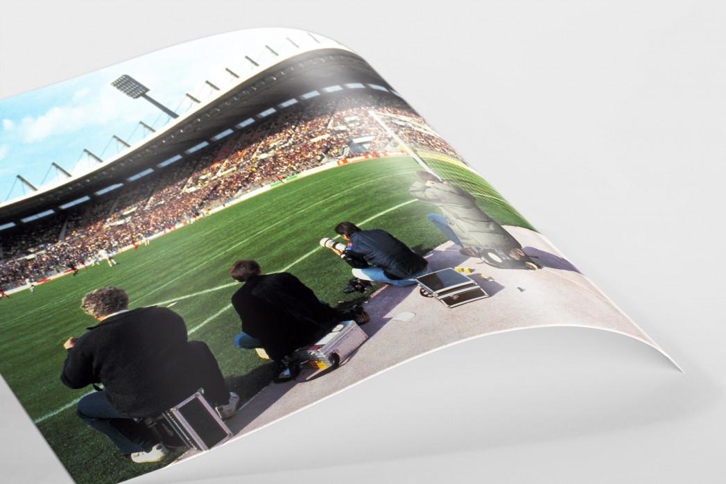 Im Rheinstadion 1983 als FineArt-Print