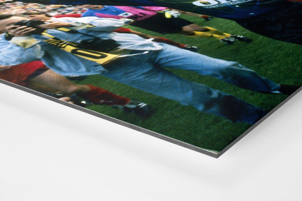 Lauterer Pokaljubel 1990 (2) als auf Alu-Dibond kaschierter Fotoabzug (Detail)