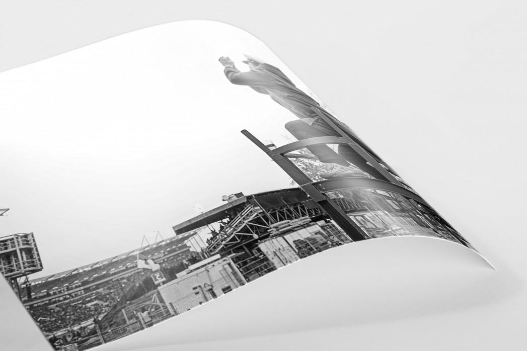 Jubel draußen am Millerntor als FineArt-Print