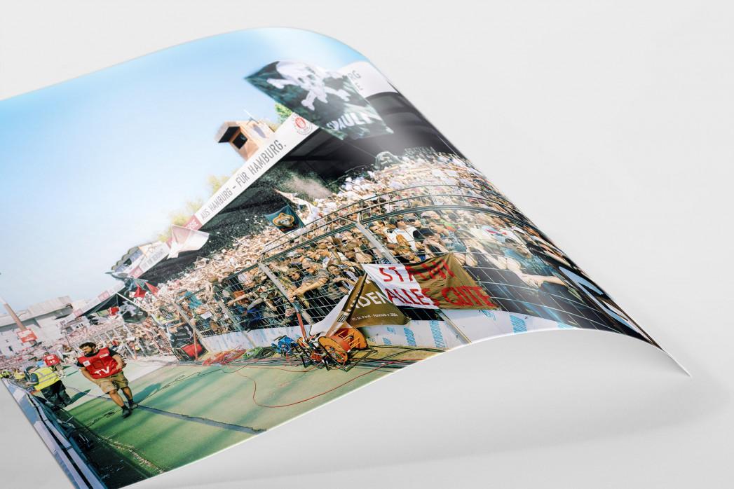 Gegengerade Millerntor 2012 als FineArt-Print